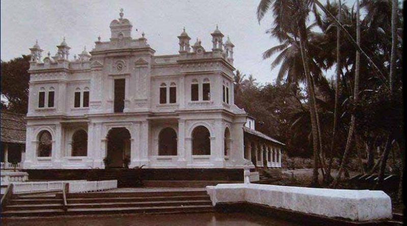 first mosque srilanka