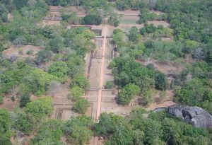 Sigiriya water garden