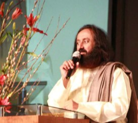 Sri Sri speaks at the Ethics in Business Conference in Argentina