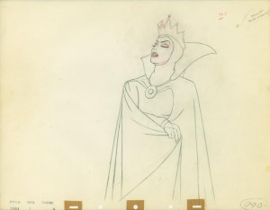 #019 ANIMATION DRAWING of THE QUEEN Image