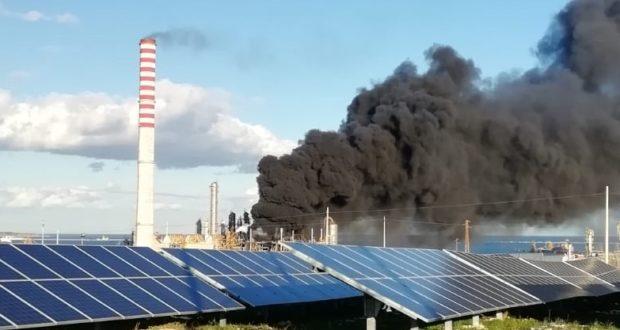 Priolo, incendio allo stabilimento Eni VersalisSiracusaLive | SRlive.it