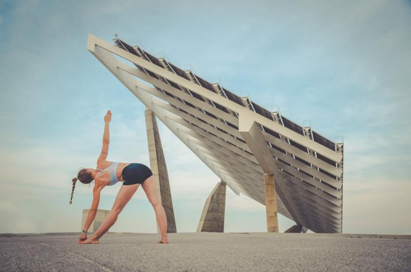 Sesion de fotos yoga Barcelona