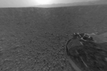 NASA Curiosity Mars image
