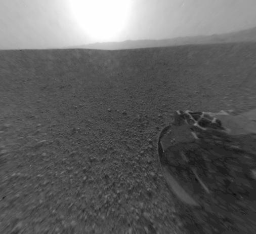 NASA Curiosity Mars image