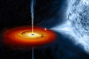 nasa black hole imagine
