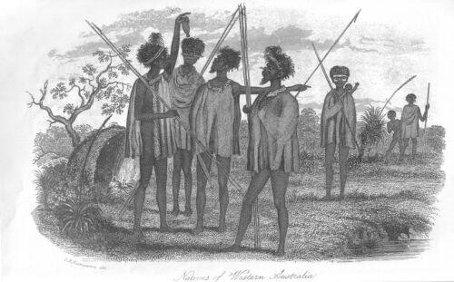 Natives of Western_Australia Discoveries in Australia