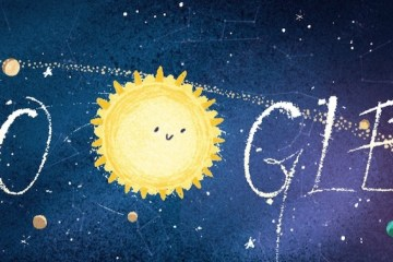 Google Doodle sciame Geminidi 2018