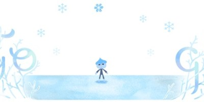 Google Doodle winter solstice 2018 northern hemisphere