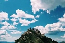 Montaña y gente