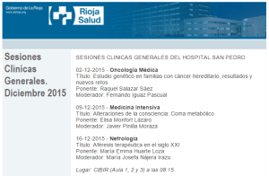 Sesiones clinicas generales dic 2015