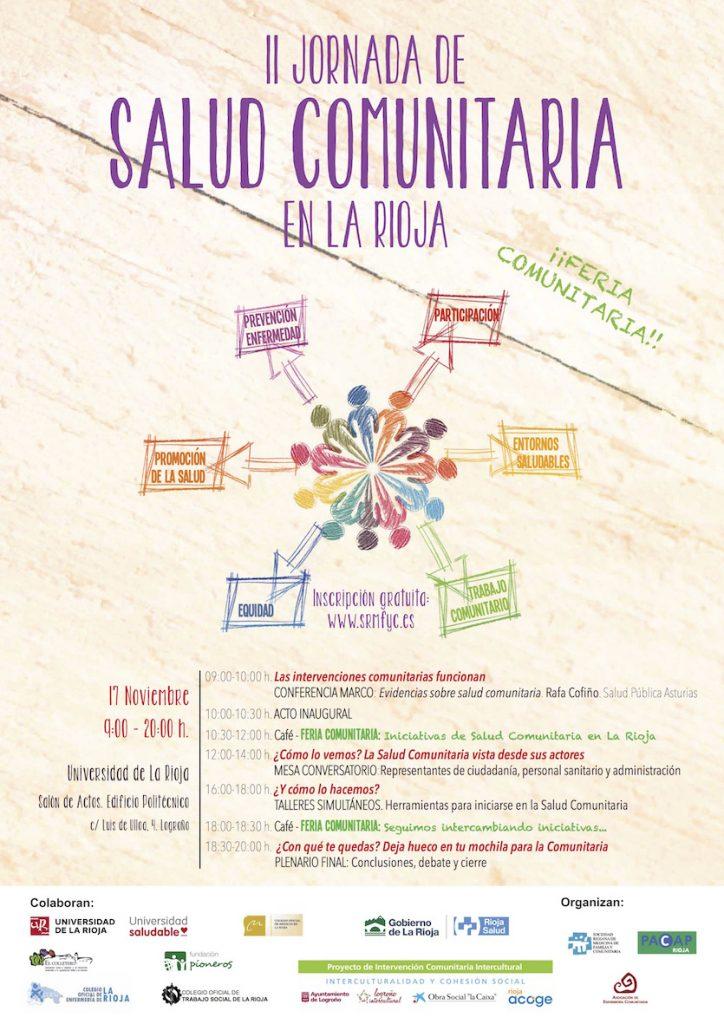 Cartel II Jornada Salud Comunitaria