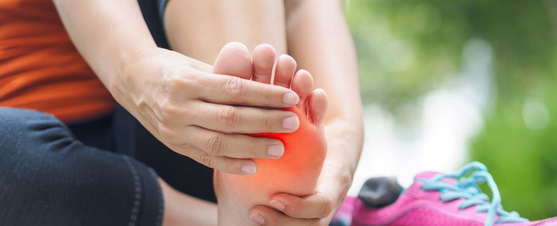 Morton's neuroma is inflammation of the nerves between the metatarsal bones of the foot.