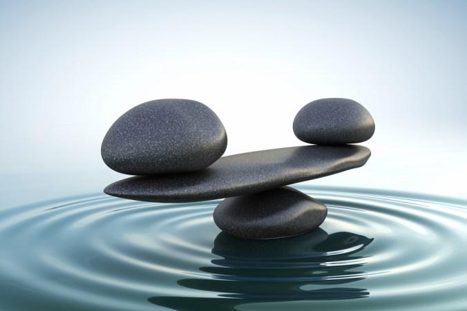 water element representing balance