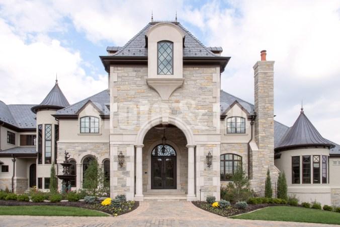 Kingsbury Estate home front entrance design