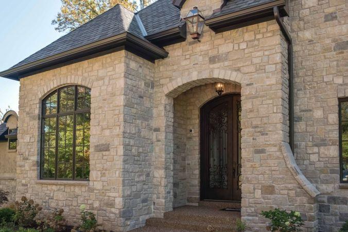 Huntbridge Forest home front entrance design