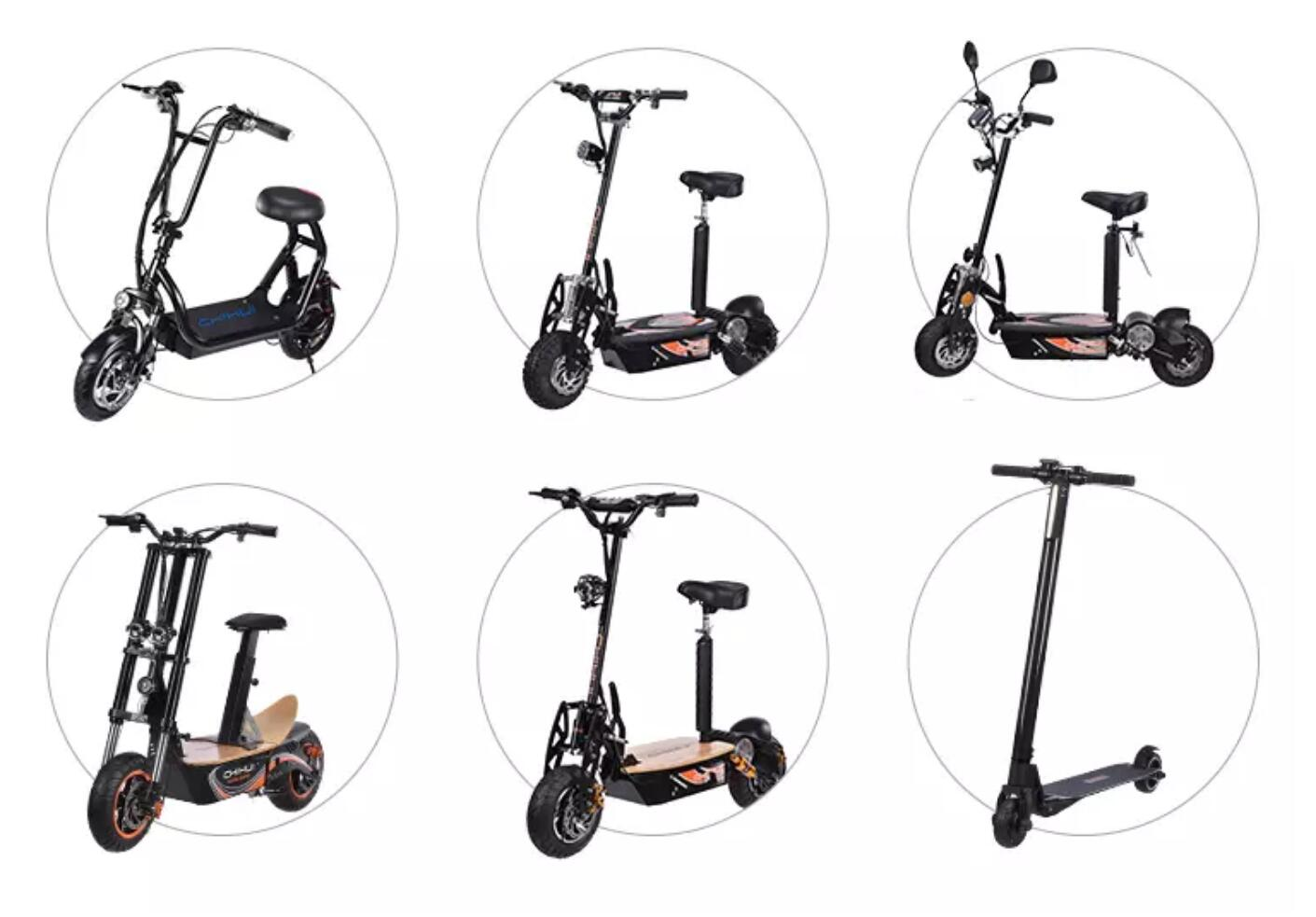 Uberscoot W Adult Electric Scooter Manufacturers And