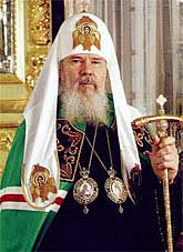 His Beatitude Alexy II of blessed memory