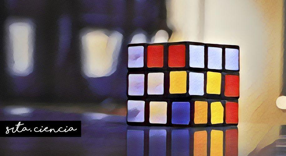 El cubo de Rubik crea el orden desde el caos