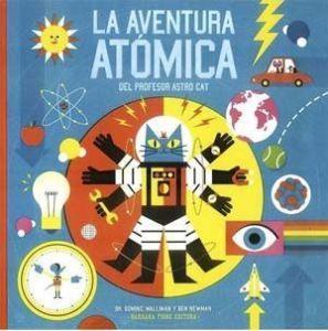 aventura atómica libro, astrocat para niños, leer es divertido