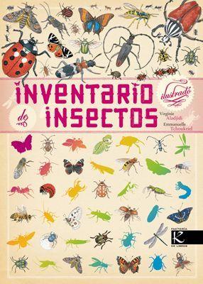 libro de insectos, libros bonitos para niños, libros informativos para niños