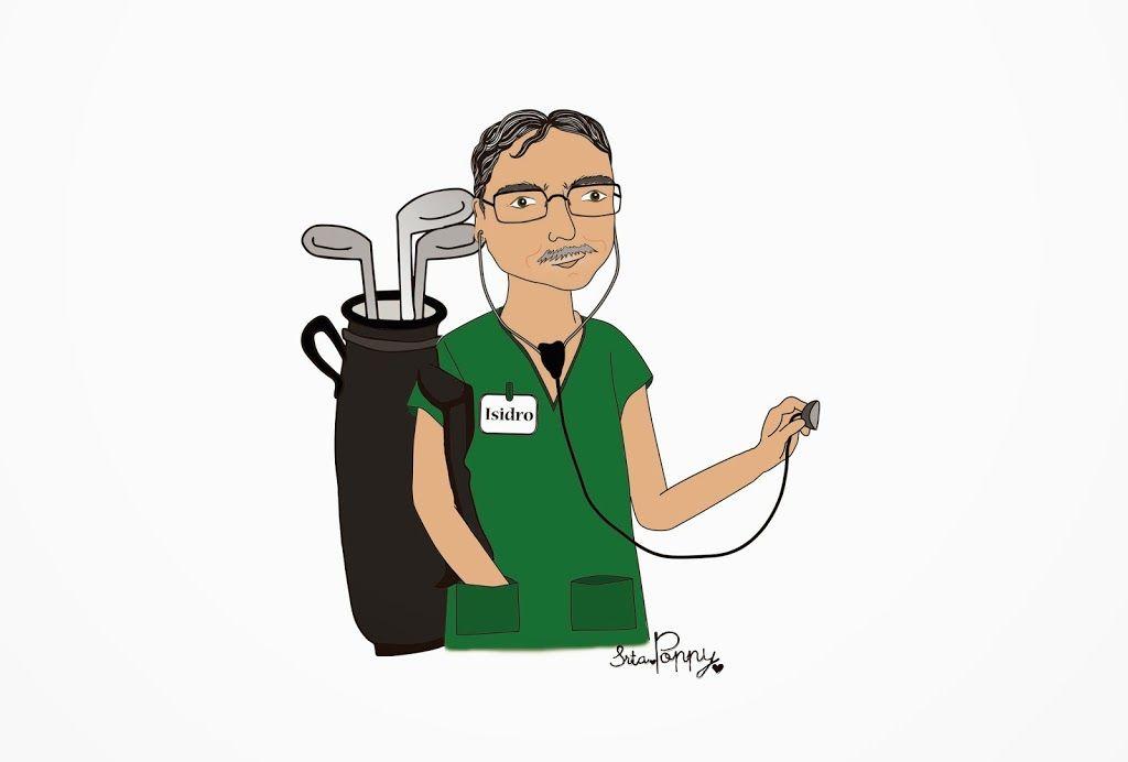Ilustración personalizada Isidro