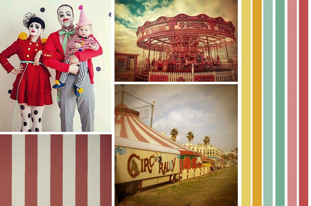 Mood boad Una vida de Circo