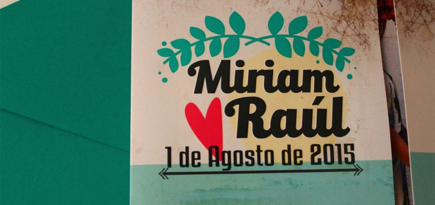 Invitación de Boda Myri&Raúl