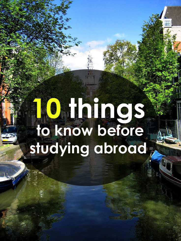 10 things to know before studying abroad