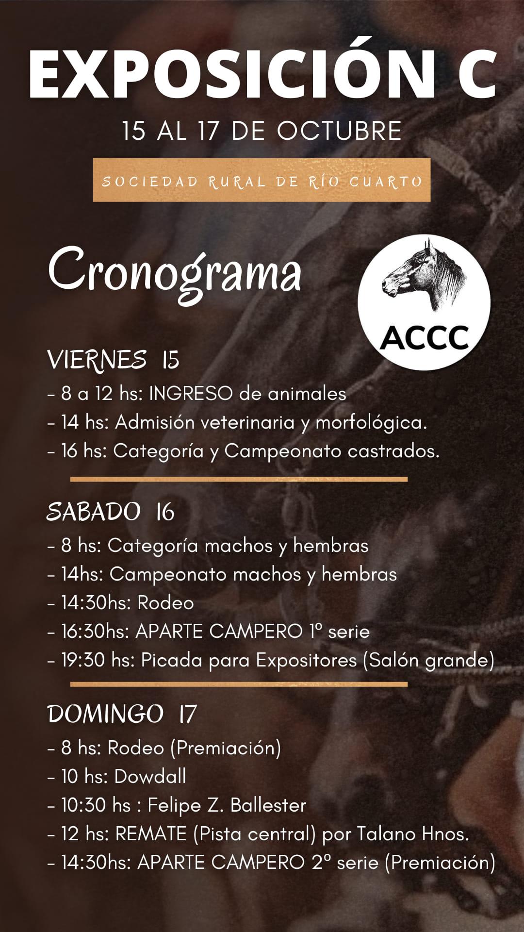 Con récord de inscriptos se realiza la exposición de caballos criollos en el predio ruralista