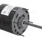 Century electric direct drive fan & blower motor 150A  3/4HP, 1/2HP, 1/3HP 1075RPM F48Y
