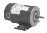 Century electric pump motor BN24V1 .75HP 3450 RPM 48Y frame 115VAC