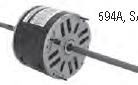 Century electric motor 594A 1/2HP, 1/3HP, 1/4HP 1075 RPM, 48Y Frame, 115VAC