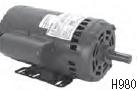 Century electric motor H980L 3HP, 1725 RPM, 56Y Frame, 208-230/460VAC