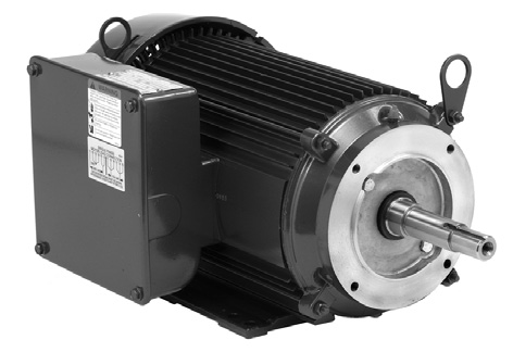 Close-Coupled Pump Motors 1 Phase AC - TEFC Enclosure