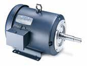 Close-Coupled Pump Motors 3 Phase AC - TEFC Enclosure