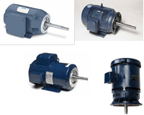 Close-Coupled Pump Motors Single Phase AC