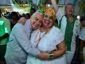 Final de samba da Mocidade Independente. Foto: Eduardo Hollanda