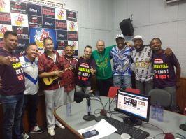 Ouça a roda de samba especial de esquenta para os ensaios técnicos. Foto: Rádio Trianon