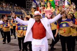 Desfile 2018 da Unidos de Santa Bárbara. Foto: SRzd – Cláudio L. Costa