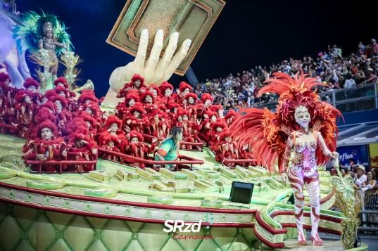 Desfile 2018 da X-9 Paulistana. Foto: SRzd – Wadson Ferreira