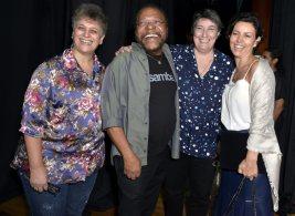Ana Ferguson , Martinho da Vila , Solange Bighetti e Cléo Ferreira - Teatro MARTINHO DA VILA 8.0 - Maio 2018 - Foto CG