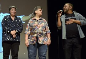Solange Bighetti , Ana Ferguson e Martinho da Vila - Teatro MARTINHO DA VILA 8.0 - Maio 2018 - Foto CG