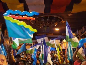 Final da disputa de samba da Rocinha foi neste sábado (25). Foto: Eliane Pinheiro/SRzd