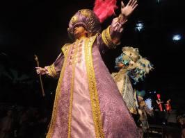 m noite de apresentação de fantasias, Sabrina Sato é coroada rainha de bateria da Gaviões da Fiel. Foto: Assessoria de Imprensa - Gaviões da Fiel