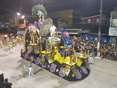 Desfile da Deixa Falar no Carnaval de Belém 2019 (Arquivo Pessoal de Eduardo Wagner)