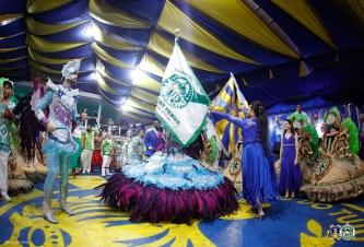Mancha Verde se apresenta na Paraíso do Tuiuti. Foto: Sergio Ortiz/Divulgação