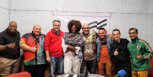 "X-9 Paulistana participa do ""Programa No Mundo do Samba"". Foto: SRzd"