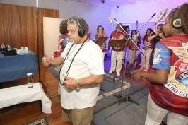 Gravação da Ilha para o CD 2020. Foto: Henrique Matos