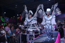 Apresentação das fantasias da Rosas de Ouro para o Carnaval 2020. Foto: Divulgação - Igor Cantanhede