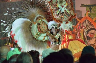 Show para turistas do Boi Garantido. Foto: Divulgação